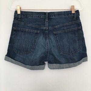 GAP Shorts - GAP Sexy Boyfriend Medium Wash Jean Shorts